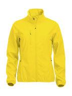 0209015 Dames Softshell JasLemon geel merk Clique